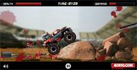 Гонка через препятствия с зомби (Top Truck2) — онлайн флеш-игра